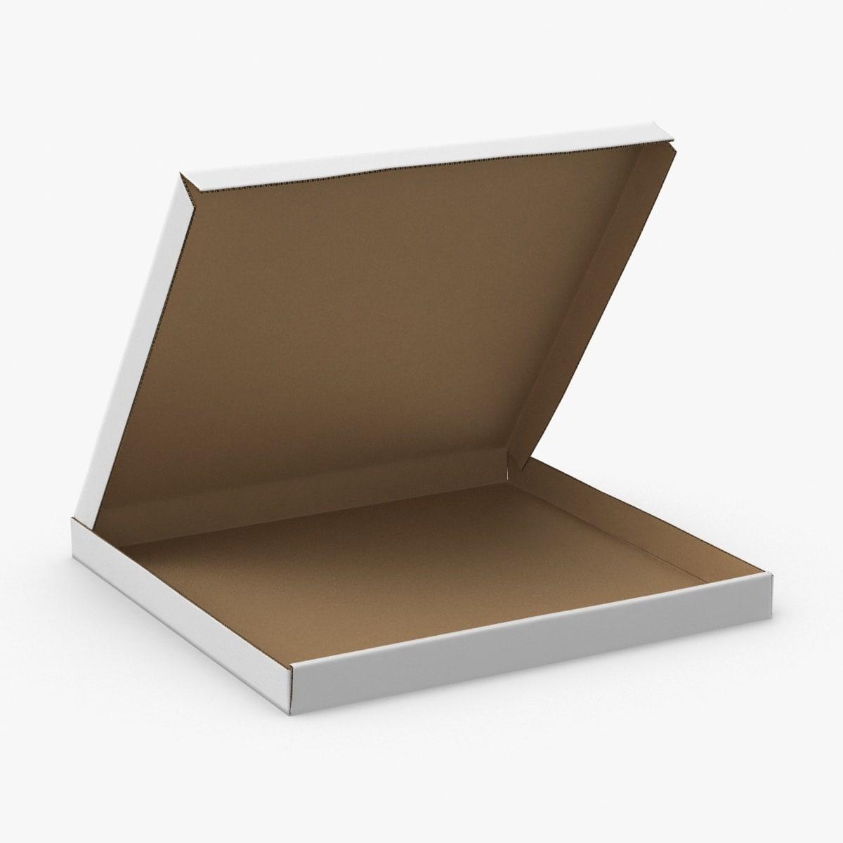 pizza-box----open 3D model