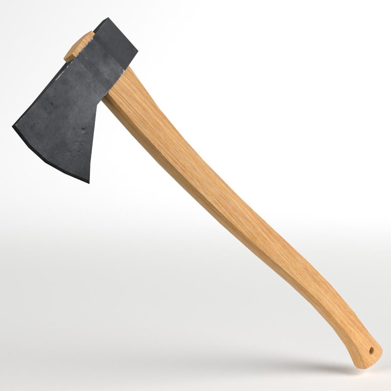 axe hatchet 3D model