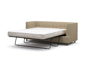 3D modern chic mattress model