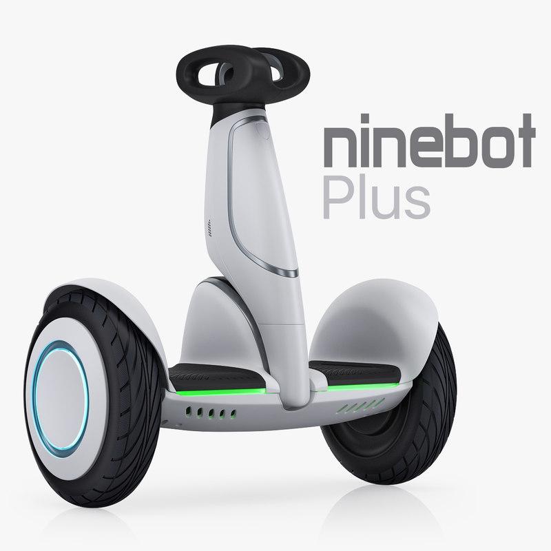 3D model xiaomi ninebot