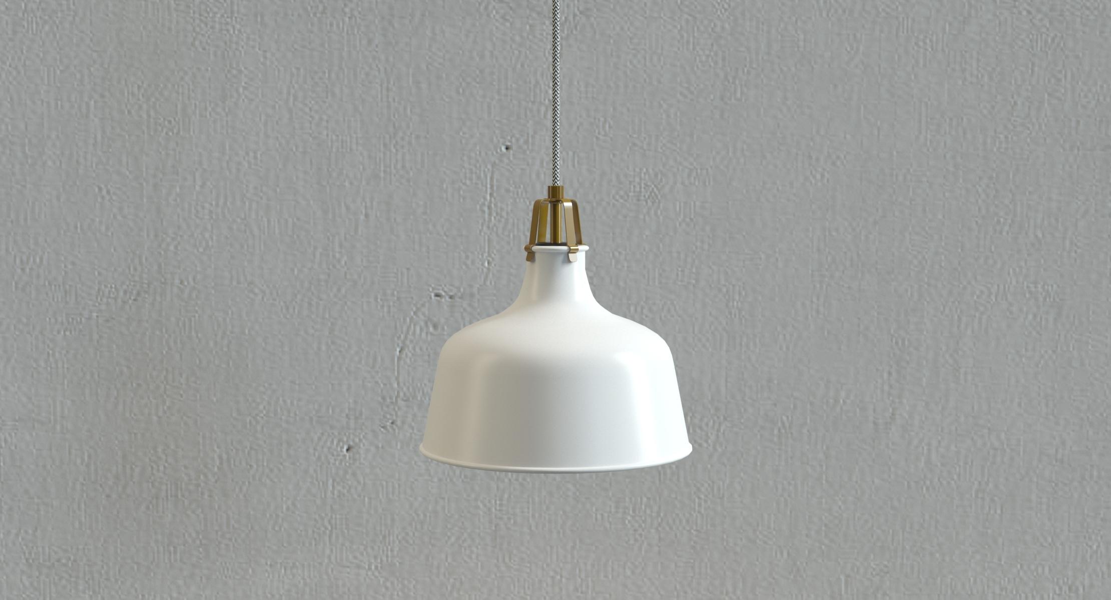 Ikea Ranarp Hanging Lamp Model