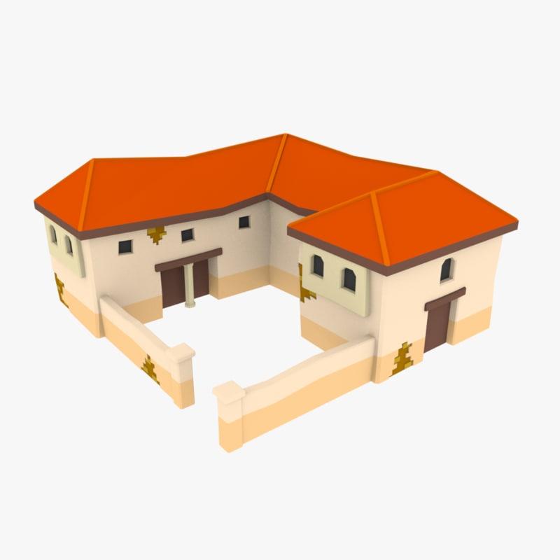 house damage 3D model