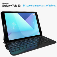 Samsung Galaxy Tab S3 black with S Pen & Keyboard