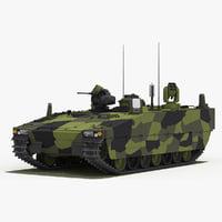 CV90 Armadillo (Green Camo)