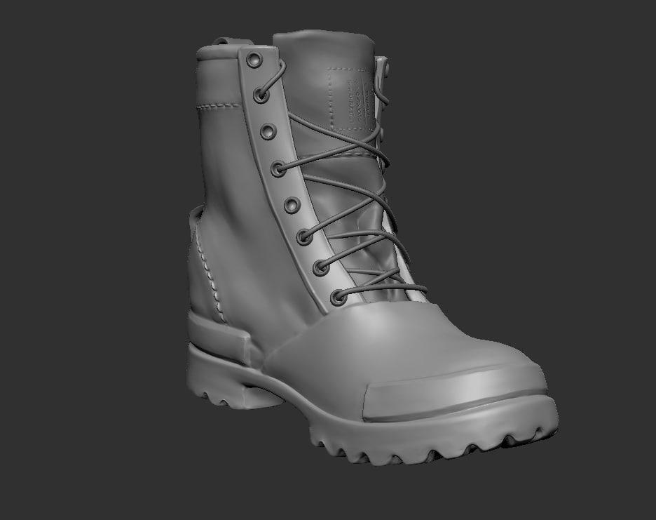 boot 3D