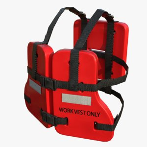 commercial life jacket - model