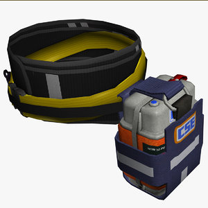 cse self rescuer 3D model