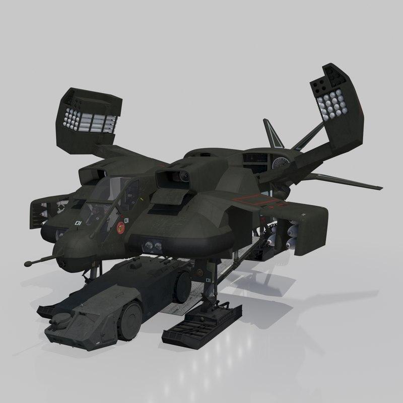 cheyenne dropship model