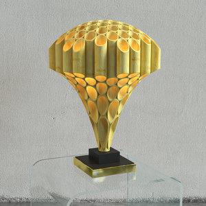 rougier mushroom tube lamp 3D model