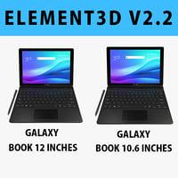 E3D - Samsung Galaxy Book 12+10.6 Collection