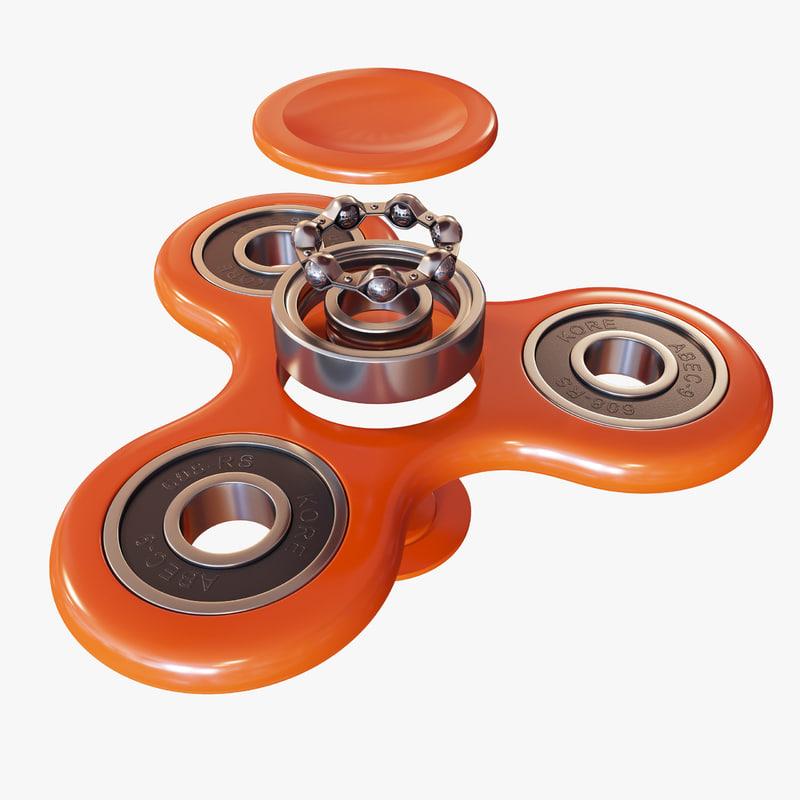 3D advanced fidget spinner