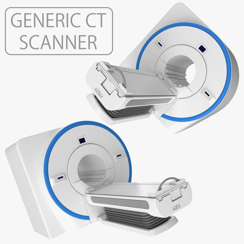 medical generic ct scanner model