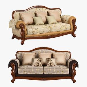 3D 230 carpenter sofa c model
