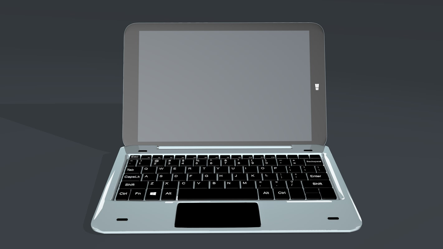 tab laptop 3D model