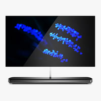 3D lg signature oled tv model
