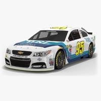 3D leavine family racing nascar model