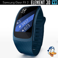 samsung gear fit 2 3D