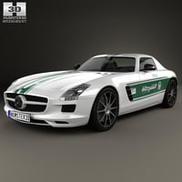 mercedes-benz sls-class 2013 3D model