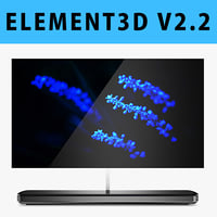 E3D - LG SIGNATURE OLED TV W 65 Inches model