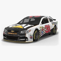 3D model richard childress racing nascar