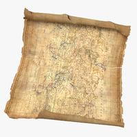 treasure 03 01 3D model