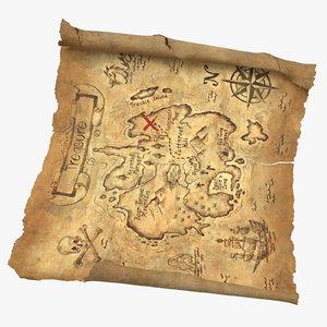 3D model treasure 03 04