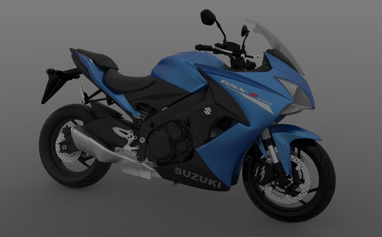 gsx gsx-s1000 1000 3D model