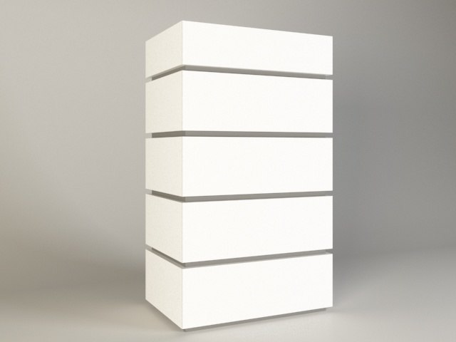 chest drawers model