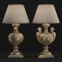 3D model lamp seven sedie