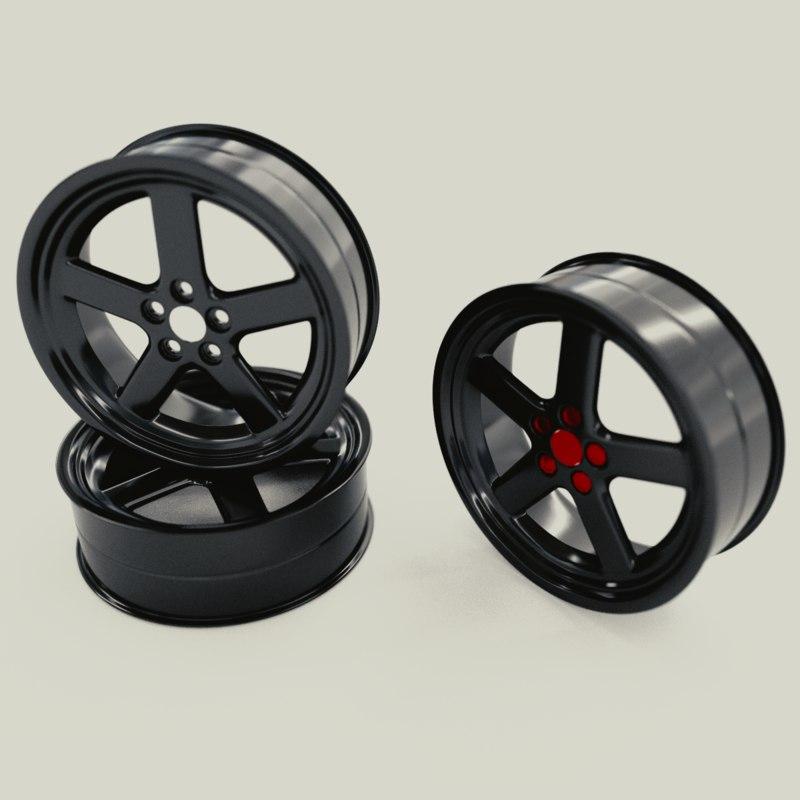car rims 3D model