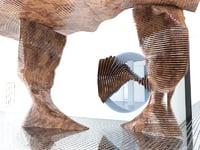 futuristic scene interior model