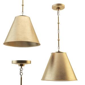 3D goodman small hanging light model