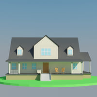 big house scene model