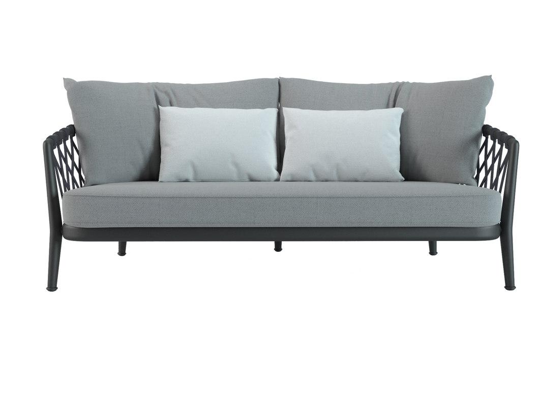 3D sofa erica b model