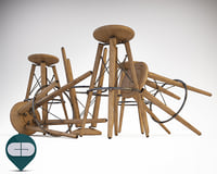 3D colico stool