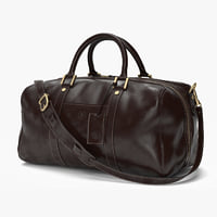 Maxwell Scott FleroS Holdall Chocolate