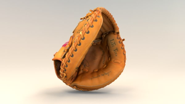 catcher s glove 3D model