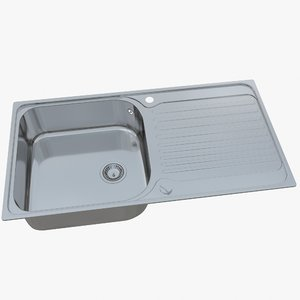 sink blanco tipo xl model