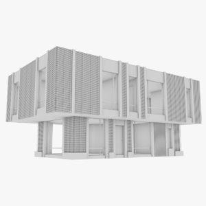 3D modern house interior 8