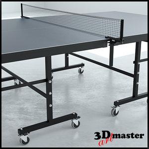 3D model table tennis