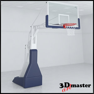 basketball ring 3D