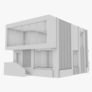 modern house interior 12 model