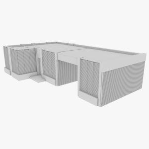 3D model modern house interior 13