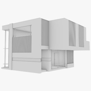 3D modern house interior 16