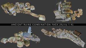 ancient ruins model