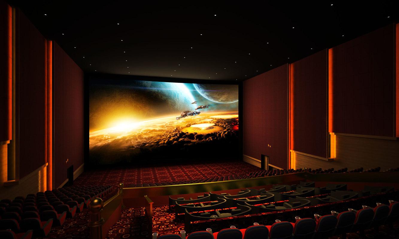 movie theater video hall model