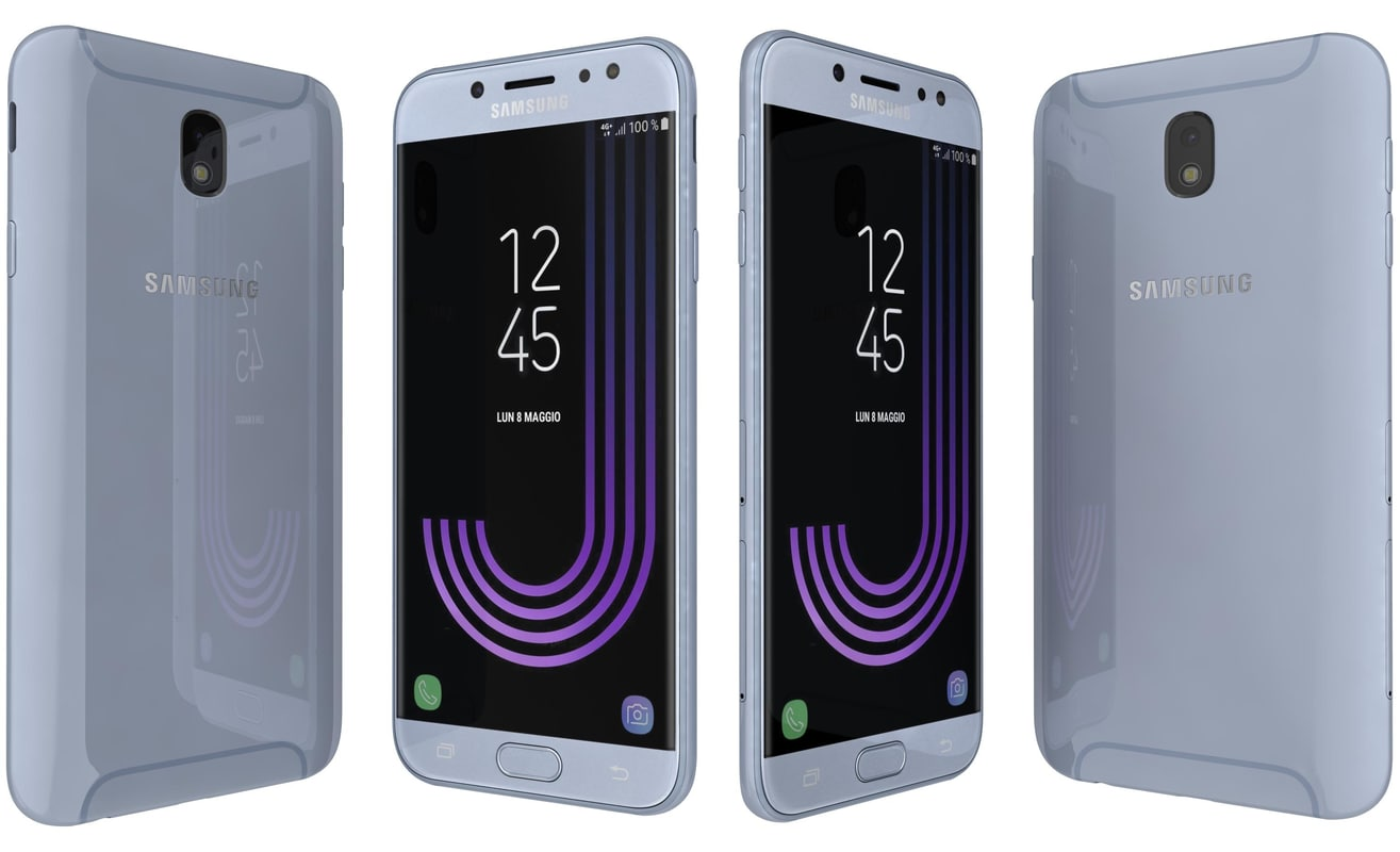 3D samsung galaxy j7 2017 model