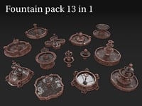 Fountain pack 13 in 1