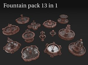 fountains 13 1 3D