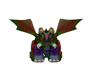 hellphant 3D model